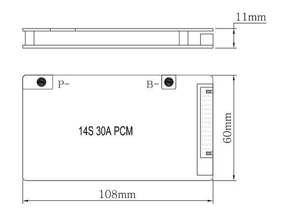 2019 51 8V BMS 14S BMS PCM Used For 51 8 V Lithium Ion Battery Pack 51 8V  14S 30A BMS / PCM /PCB From Wennuan0216, &Price