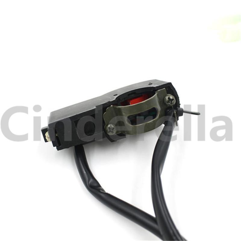 Interruptor multifuncional del cuerno de la linterna de la motocicleta / interruptor de la luz de la motocicleta
