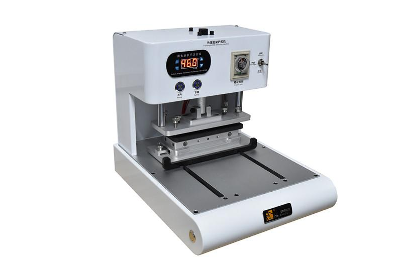 Semi-automatic Mobile Phone Middle Frame Laminating Mahine OCA Glue Polarizer Remove Machine with Moulds for iPhone Series