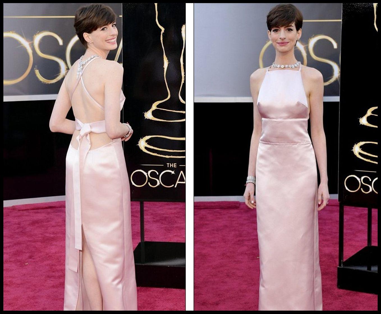Emmani Oscar Formal Evening Dresses Backless Red Carpet Celebrity ...