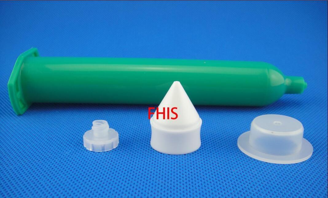 Seringa de dispensação de estilo japonês ou tubo verde de cones