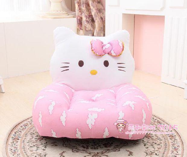 Best Fashion 2015 New Splashy Hello Kitty Relax Baby Feeding Chair Child  Seat Sofa Kids Cotton Lounge Chair Plush Toys Under $45.28 | Dhgate.Com