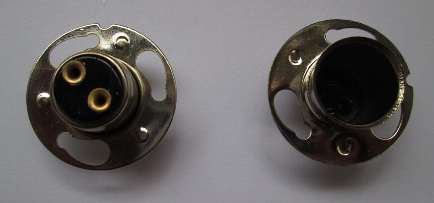 1000pcs P15D-30 lamp bases socket for auto light bulb 12V 35W