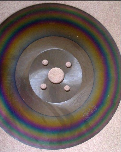 APOL 12 polegadas lâmina de serra de aço de alta velocidade de 325 * 2,0 * 32 milímetros HSS-M42 lâmina de serra circular para corte de aço inoxidável lâmina de serra do arco-íris de material