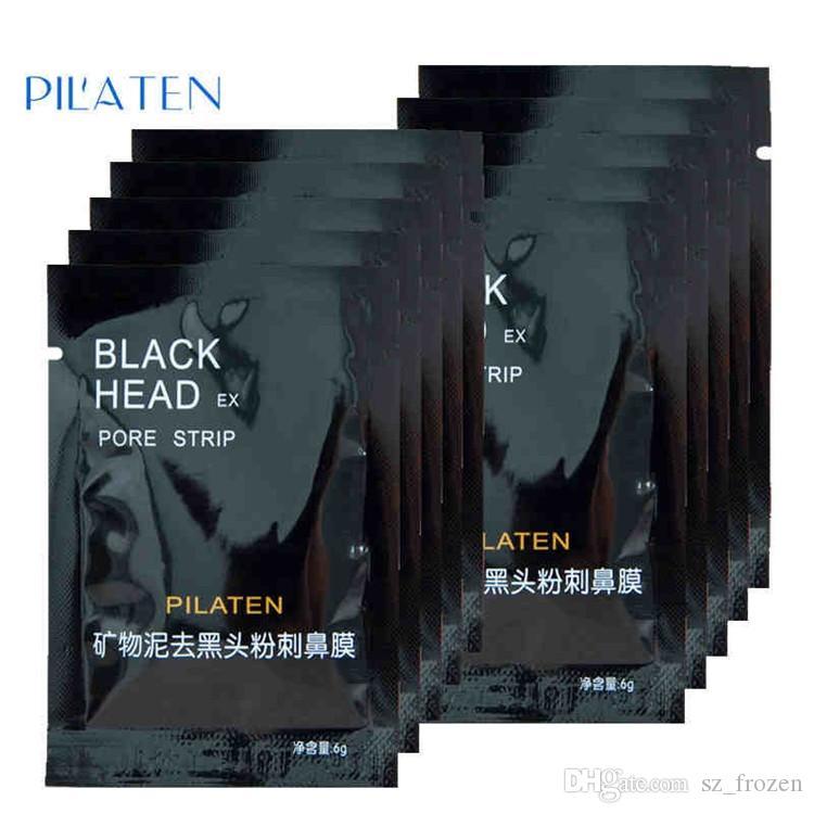 2015 New PILATEN 얼굴 미네랄 코크 코 블랙 헤드 리무버 마스크 포어 클렌저 코 블랙 헤드 EX 포어 스트립 무료 배송 A-0200