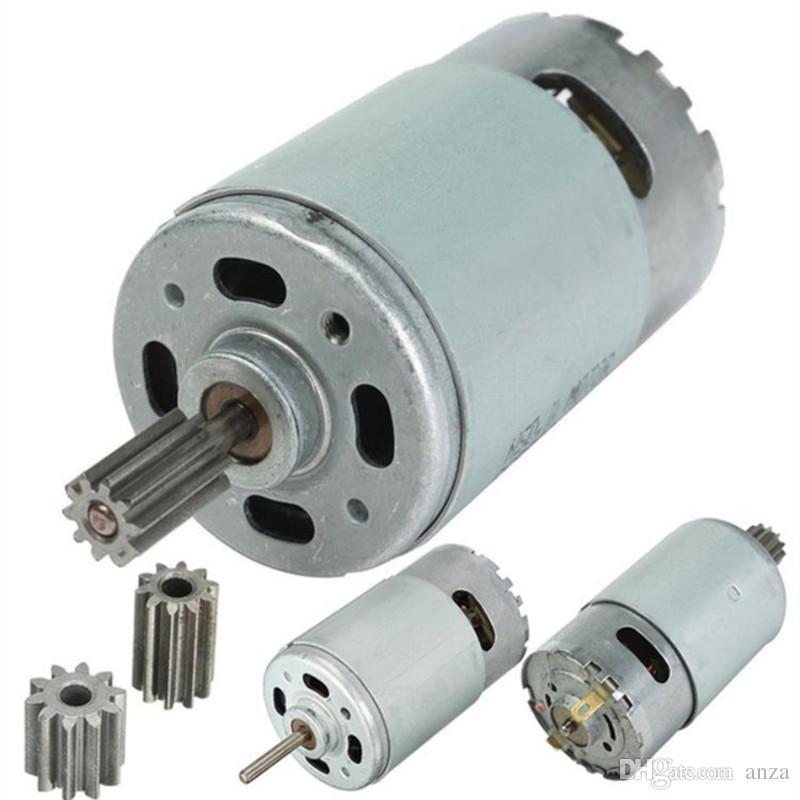Kinder elektrische Fernbedienung Auto Motor Motor 12V DC, Kinder Elektro-Motorrad 6V Elektromotor, 550 380 390 Motor