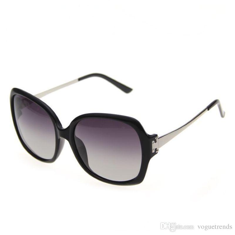 Бабочка негабаритных поляризованных солнцезащитных очков для женщин ацетат металлический каркас Polaroid линзы очки Occhiali да Sole Донна