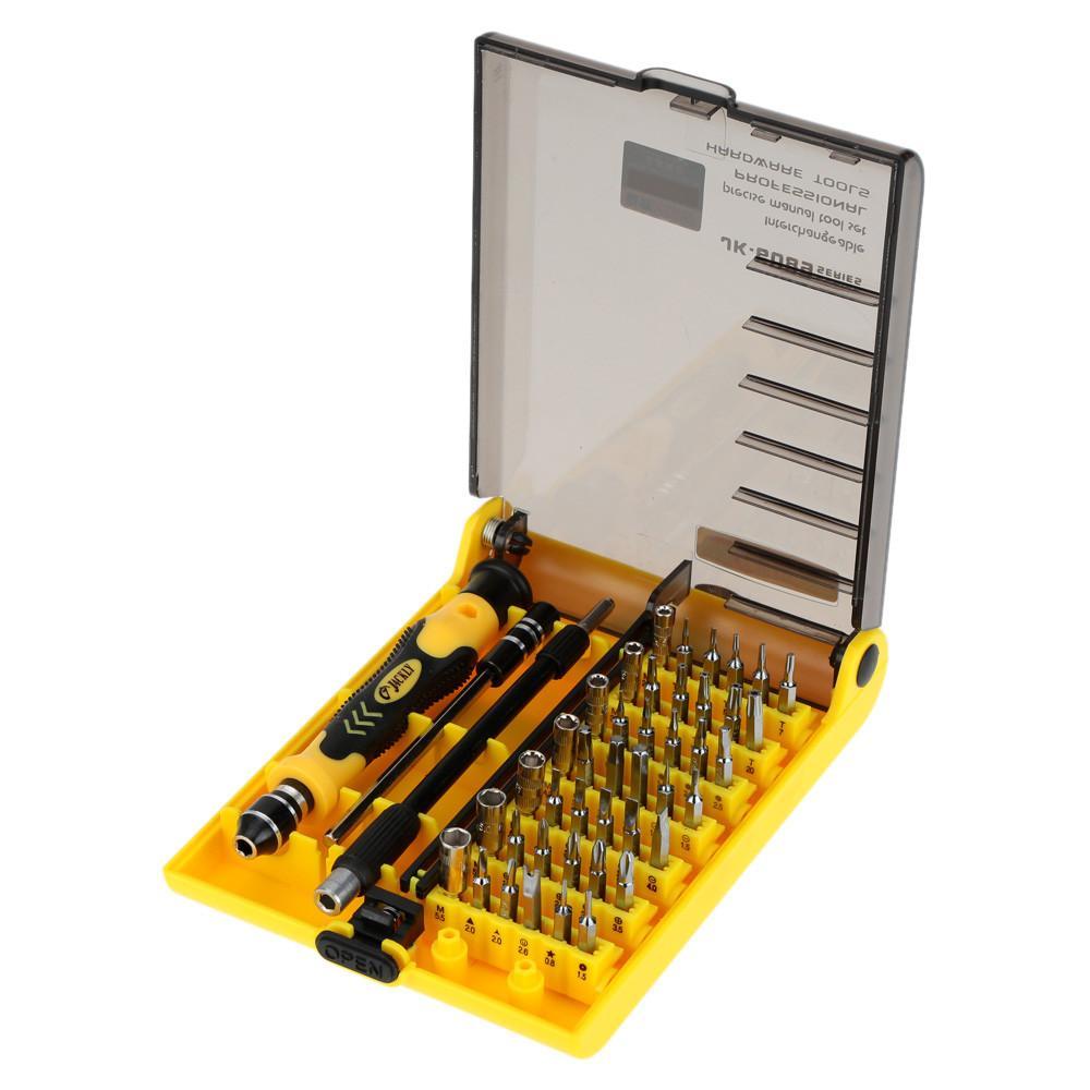 45-in-1 Professionelle Hardware Schraubendreher Werkzeug Kit Handwerkzeugteile T01008