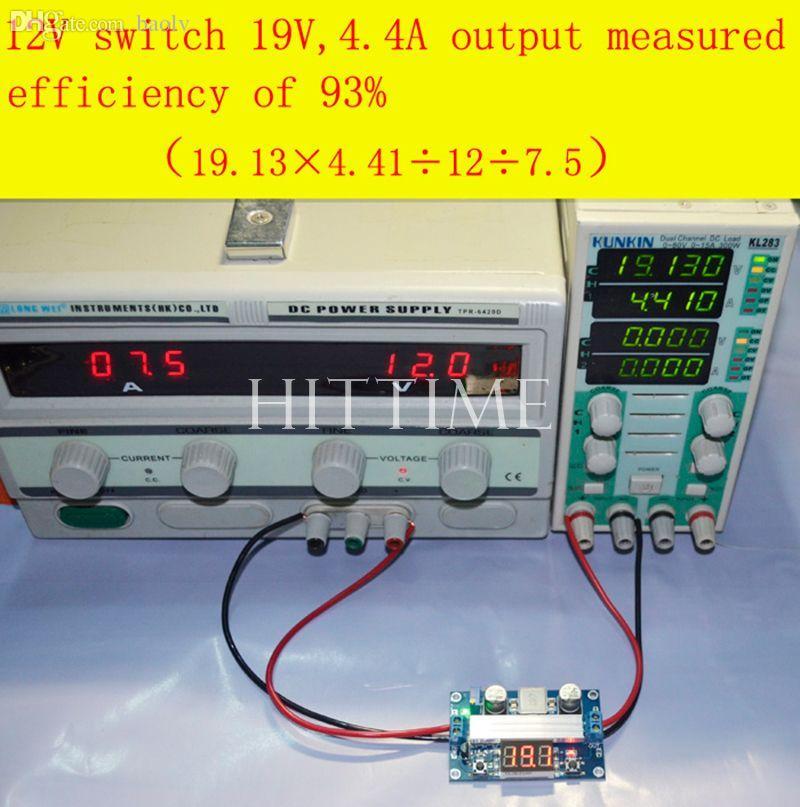 도매 실용 3 ~ 35V ~ 3.5 ~ 35V 100W 가변 DC-DC 스텝 업 부스트 전압 컨버터 모듈 # 61105