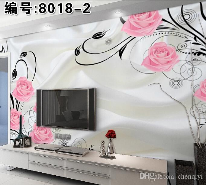 New Can Custom Made Large 3D Mural Art Wallpaper Home Decor Personality VisualAbstract