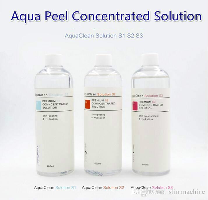 Piel normal Serum Facial aqua Solución Peeling / aqua Peel solución concentrada de 400 ml por botella de Aqua Serum Facial Hydra