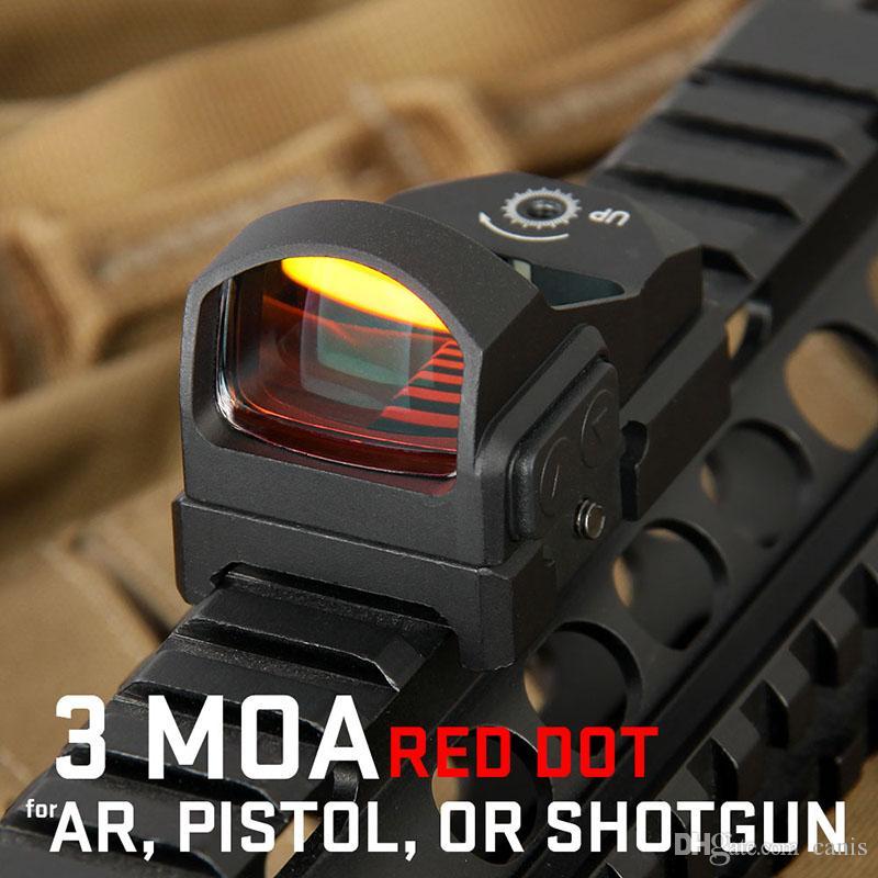 PPT 2-0117 Ottica di caccia Dot Dot Rifle Scope 20mm Rail Tactical Airsoft Scope Caccia REFLEX CL2-0117