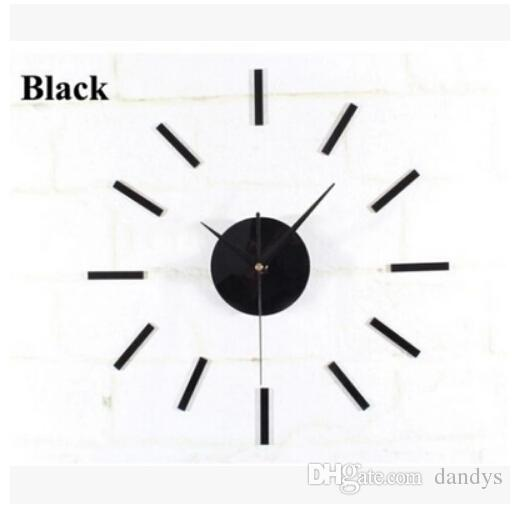 Hands Quartz Clock Movement Mechanism DIY Repair Parts Black