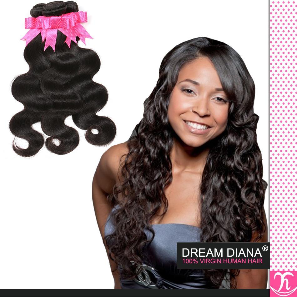 Queens Virgin Hair продукты бразильский боди-Вэйв 4шт Virgin Hair Body Wave человеческого ткать хороший бразильский волос 100% человеческих волос расширение