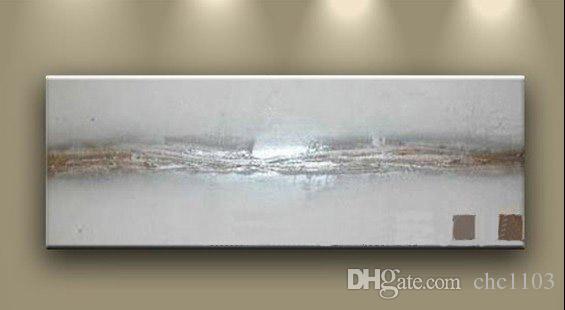 現代/抽象的な油絵の手描きの油壁アート油絵xdd1-052