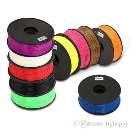 Filamento stampante 3D / ABS o PLA e 1,75 o 3,0 mm / Materiali di consumo di plastica in materiale / MakerBot / RepRap / UP