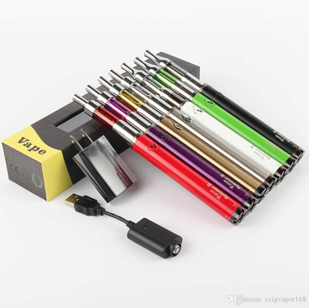 Electronic Cigarette Vision Spinner 2 ii 1600mah Battery box kit Mini protank 2 3 Vaporizer Atomizer ecig eGo Vision Spinner Starter kits