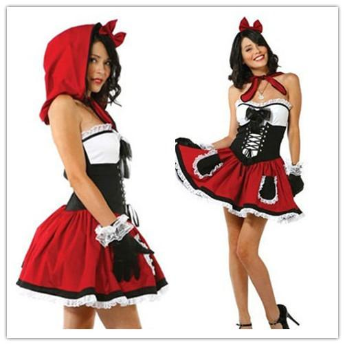 Cosplay Fairy Tale Costumes For Women Hot Little Red Riding Hood Girl Costume Set Outfit 3  sc 1 st  DHgate.com & Cosplay Fairy Tale Costumes For Women Hot Little Red Riding Hood ...