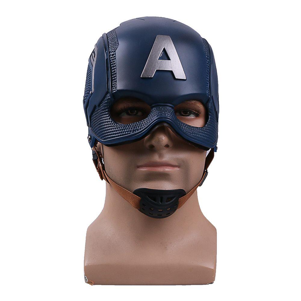 Captain America Helmet,Captain America Mask,Captain America Cosplay,Captain America Cosplay Helmet Mask Props
