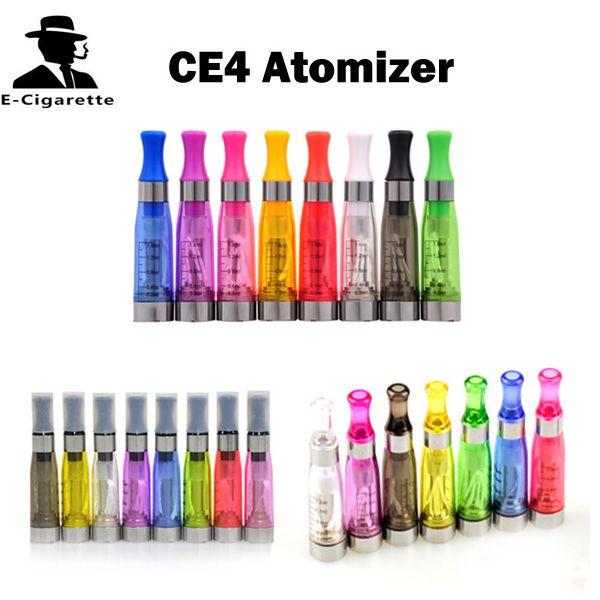 자아 CE4 분무기 1.6ml 전자 담배 Cartomizer 혼합 색상 일치 r 510 자아 배터리 VS CE4 + CE5 CE6