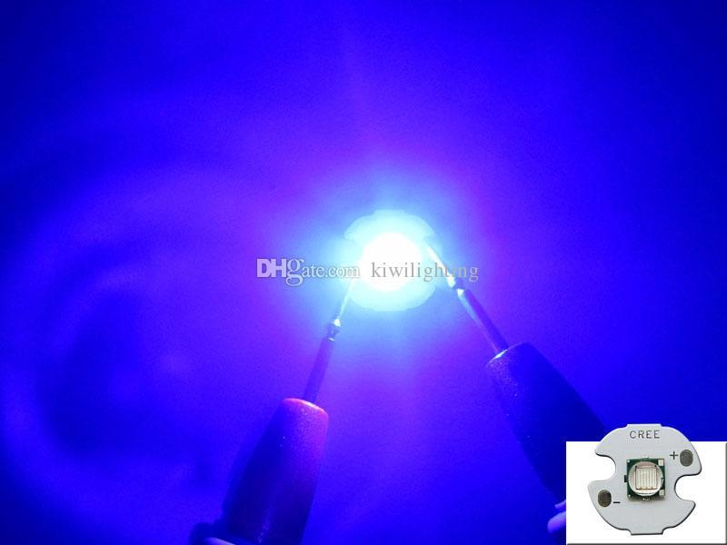 Epileds 10W Royal Blue 450-455nm 3.2-3.8V 1-3A Led Chip Ampoule lampe de 20 mm / 16 mm 50pcs / lot