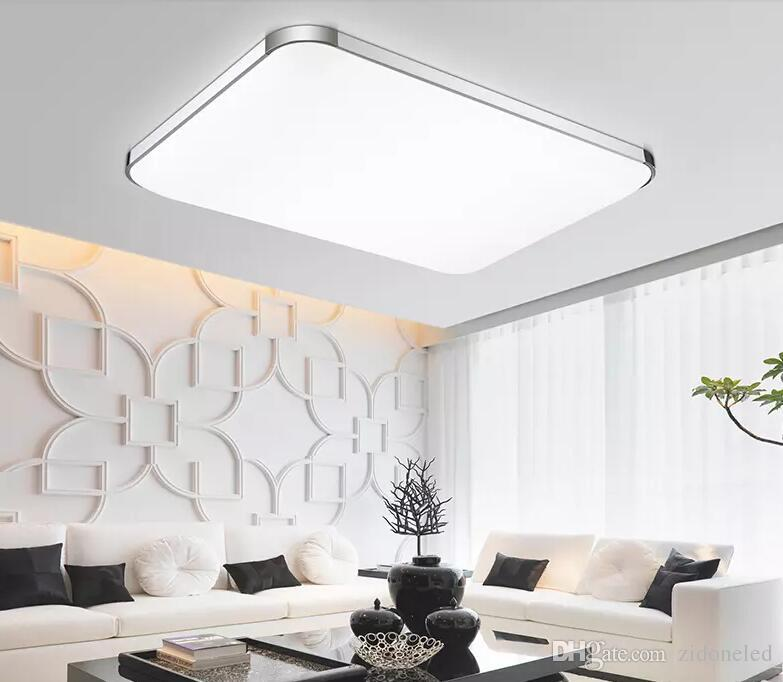 2019 Dimmable Modern Led Ceiling Lights Iphone Acrylic Ceiling Lighting Fixture Square Surface Mounted Lamp For Kitchen Kids Bedroom From Zidoneled