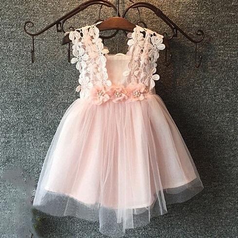 4cb3a40fb5ca Hug Me Baby Girls Clothes Lace Tutu Dresses Childrens Prubcess ...