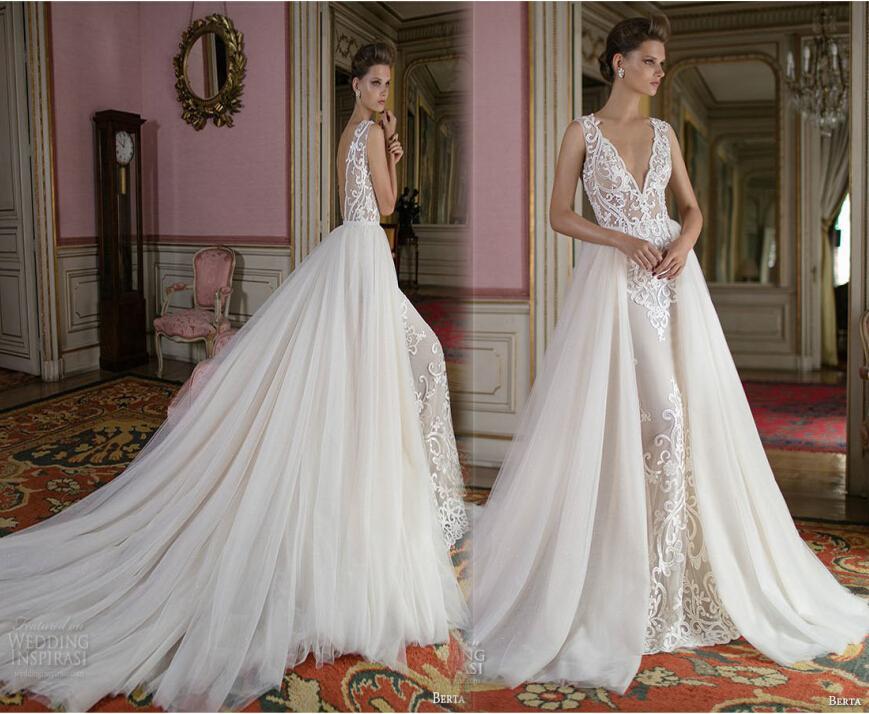 Discount Overskirt Berta Bridal Wedding Dresses