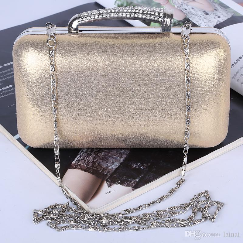 Wholesale/Factory brand new handmade fantastic PU evening bag/clutch purse with satin for wedding/banquet/party/porm(More colors)