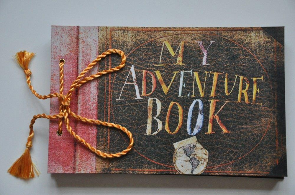 Home Decor Photo Album My Adventure Book Pixar Up Film Adventure Book Loose  Leaf Photo Album As Birthday Gift Home Decoratives Home Decorator From