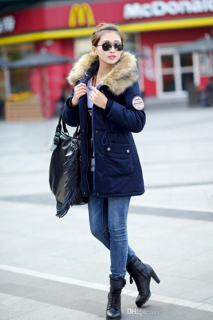Wholesale Stylish And Cheap Gender New 2015 Women Winter Coat ...