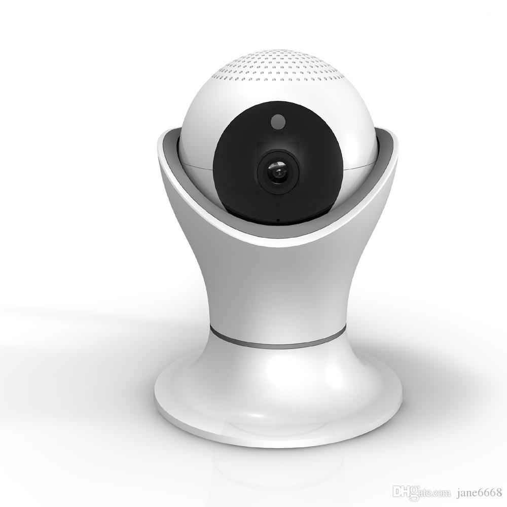 1080P Torch Shape WIFI Network HD IP Camera Support Panoramic Scan for 360 Video Monitoring with Password Encryption in free APP
