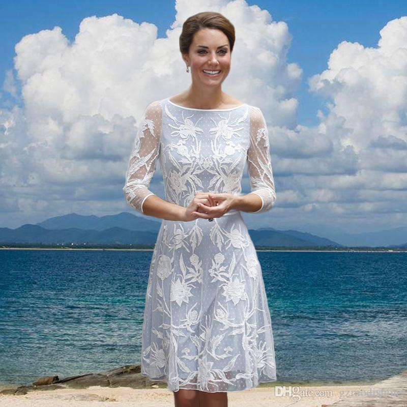White lace dress for women