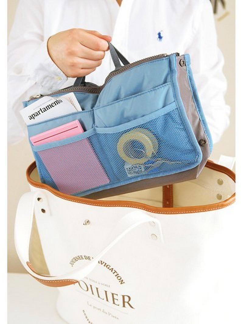 11 اللون حقيبة ماكياج محفظة التجميل mp3 mp4 الهاتف التخزين المنظم حقائب نثرية مستحضرات التجميل أكياس متعددة اثنين سستة حقيبة سعر المصنع y193