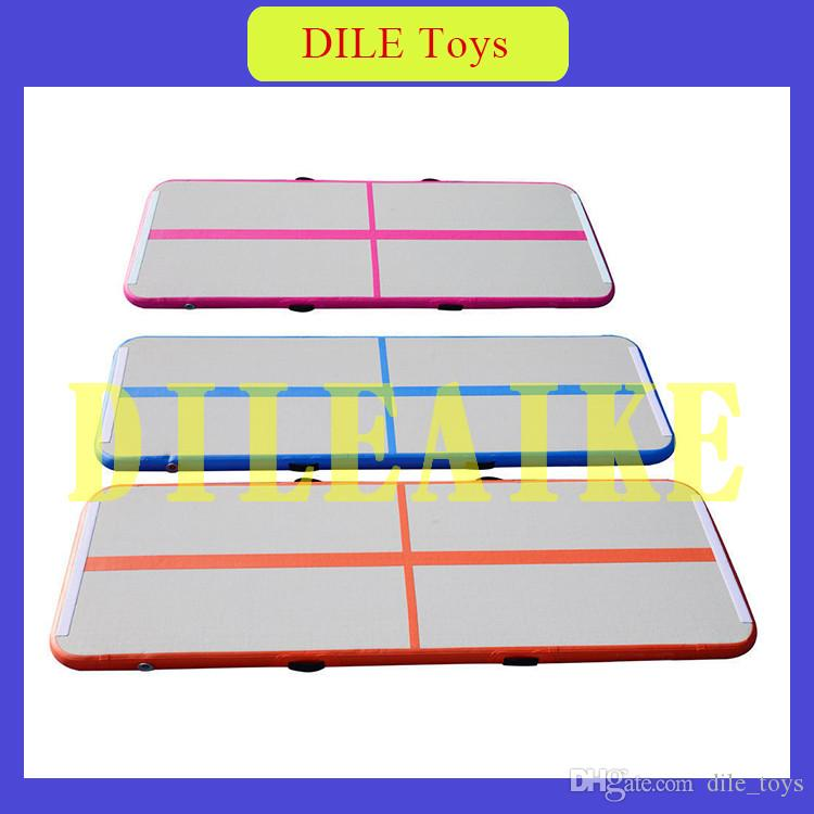 Free Shipping Door To Door Inflatable Air Track Tumbling Mat Gym Air Mat Water Trampoline For Sale