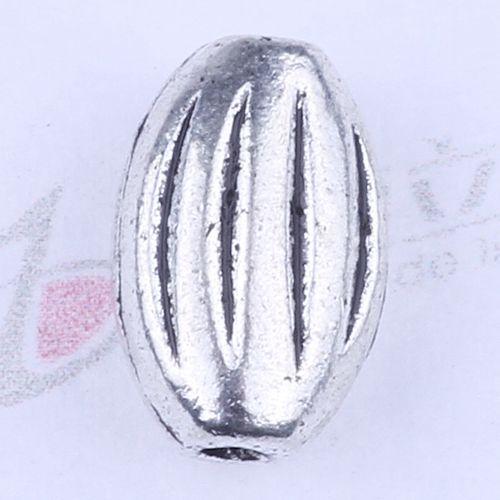 Nouvelle mode argent rétro petit trou Perles Fabrication DIY bijoux pendentif fit Collier ou Bracelets charme 1000pcs / lot 2740y