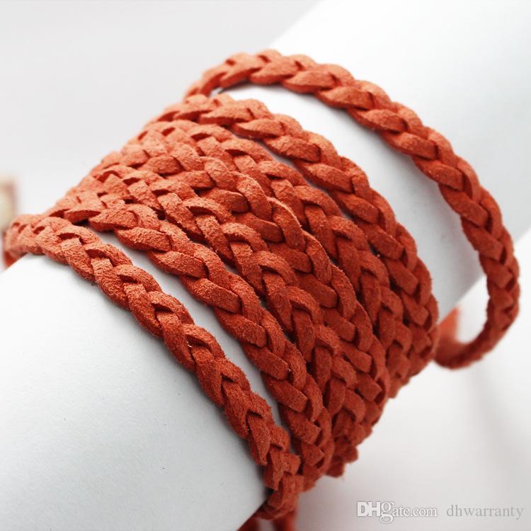 Conosciuto Migliori bracciali e collane fai da te fatti a mano 1Meter cavo  VQ48