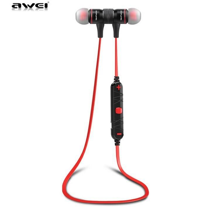 Marca originale AWEI A920BL Super Bass bluetooth in Ear Cuffie Sport Auricolari Cuffie per iPhone 6 6+ Samsung S6 ecc dispositivo