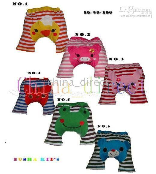 ブッシュハショートレギンスショーツPPパンツ幼児パンツ幼児ベイビーボーイズガールズ24pair /ロット100%コットン