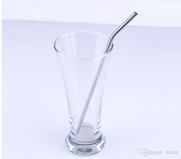 Durable Stainless Steel Drinking Straw Straws Metal for Bar Family kitchen