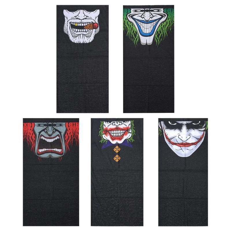 Atacado-Windproof Crânio Mouth Máscara bandanas magia sem costura esportes ao ar livre washouts silenciador cachecol máscara facial