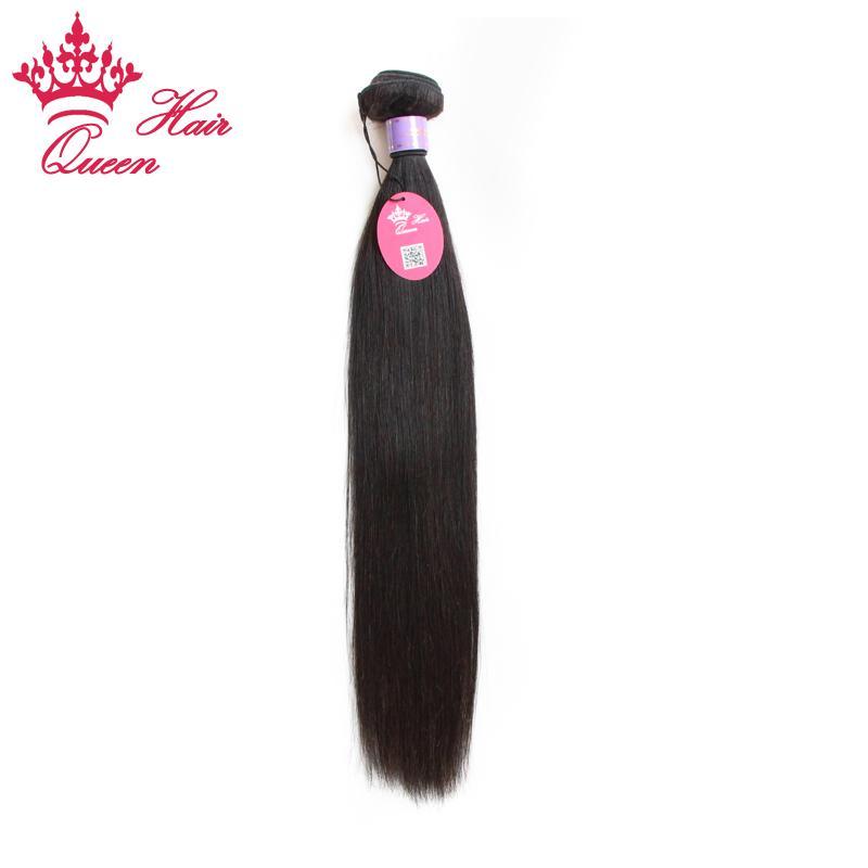 """Queen Hair Products Malaysian Virgin Hair Straight 1 pc Virgin Human Hair Extension 8""""-30"""" DHL Free"""