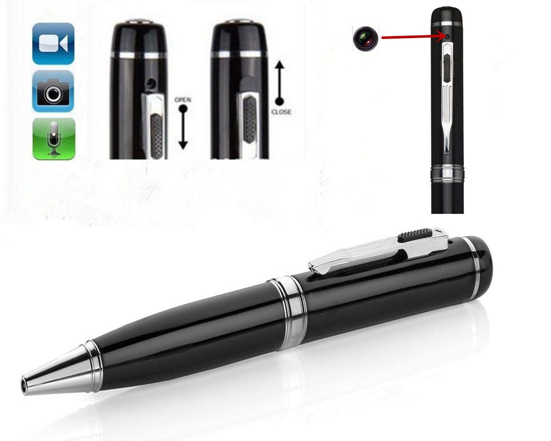 8GB 1080P Full HD Mini Spy Pen Camera Hidden Camcorder Video DVR Recorder Silver