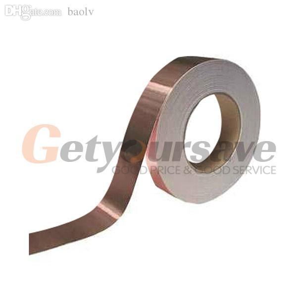 도매 - 한쪽 측면 전도성 실드 구리 호일 테이프 10mm X 30m