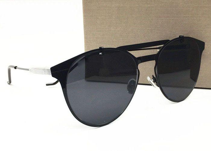 logosu orijinal dava ile erkek gözlük için yüksek kalitede lüks bağbozumu İtalya marka tasarımcısı tonları moda büyük boy güneş gözlüğü