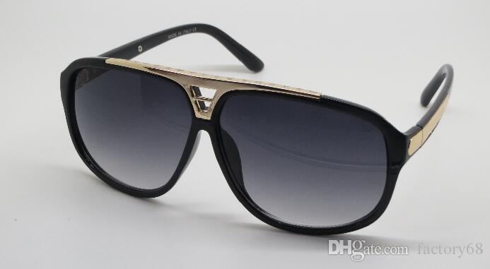 Prezent Nowa Quaity Gorąca Sprzedaż Darmowa Wysyłka High Pani Okulary przeciwsłoneczne Mężczyźni Kobiety Sunglasses Z0105 1PC Ochrona UVA.