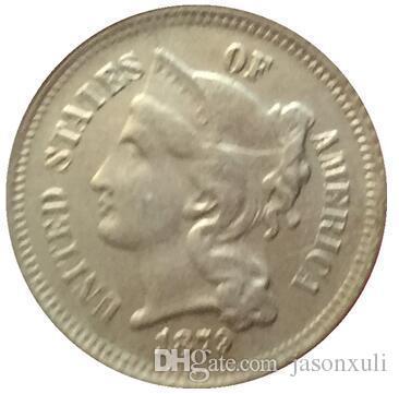 1879 ثلاثة سنت النيكل نسخ عملات شحن مجاني