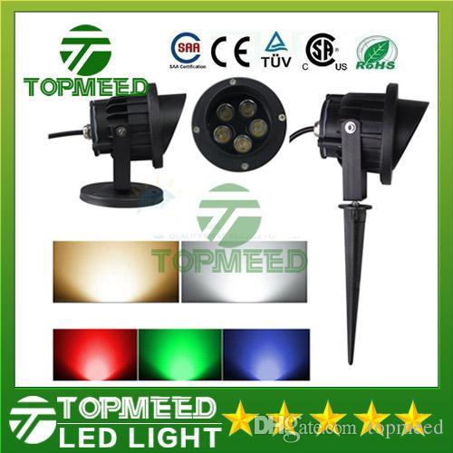 Açık su geçirmez LED Peyzaj Bahçe duvar Yard yolu gölet Projektör 6 w 10 W Peyzaj Kırmızı Yeşil Projektör Bahçe Gökyüzü Yıldız projektör 50