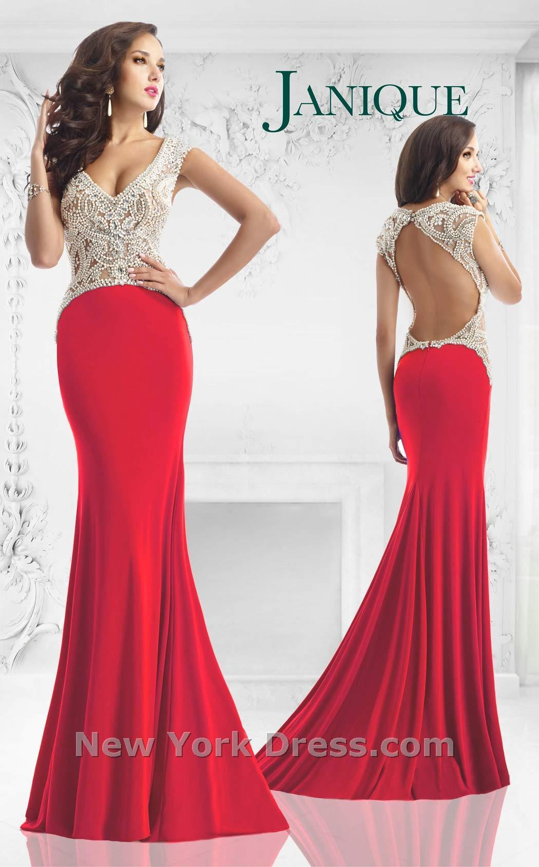 See Through Formal Chiffon Evening Dresses Red Lace 2015 Sexy Cheap ...