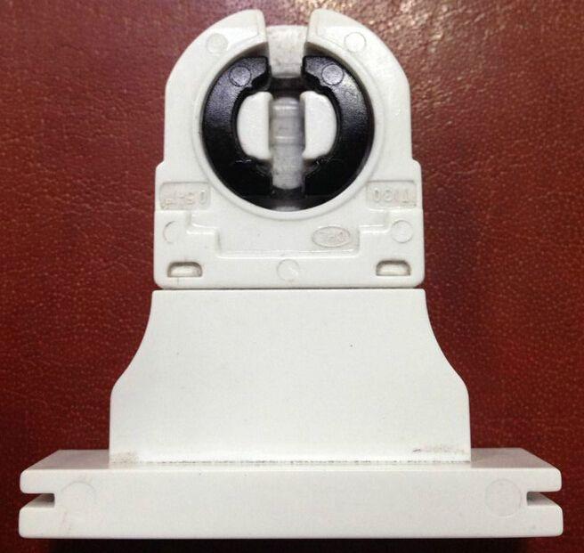 100 pcs Qualidade Superior CE FCC VDE G13 Bases Da Lâmpada T8, Tomada de luz Para 4-80 w Tubo de Luz Led 500 V 5A